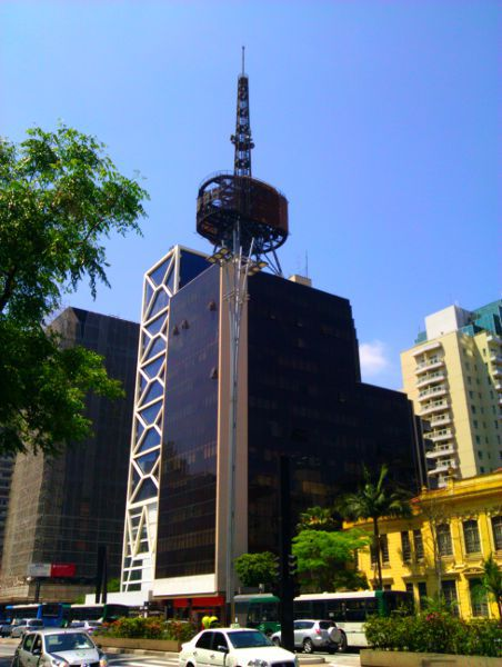 The first interesting building in Paulista