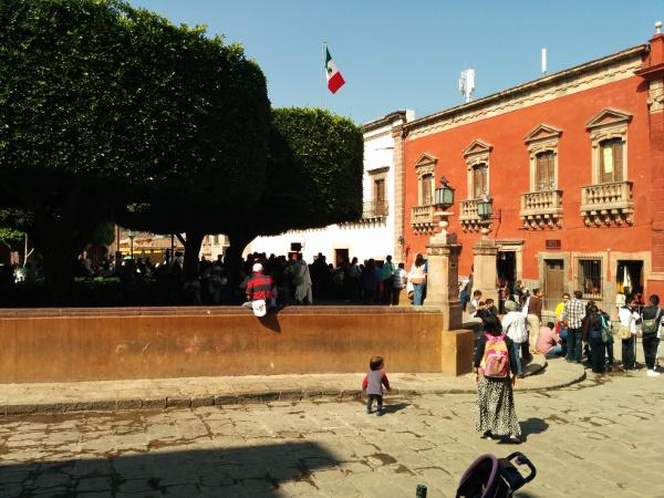 Jardin on Revolución de Mexico