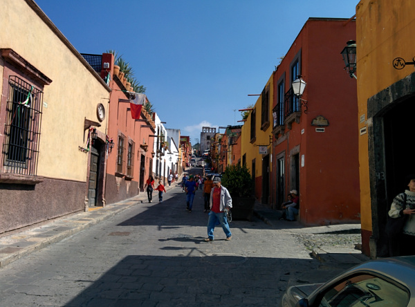 Street in Mexico 3