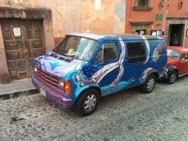 Octopus car